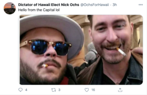 Hawaii Proud Boy Charged By DOJ After Raiding US Capitol