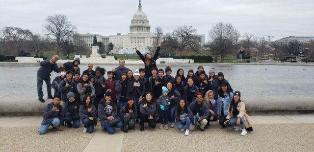 Maui Waena Intermediate, Capitol, school, class trip, DC