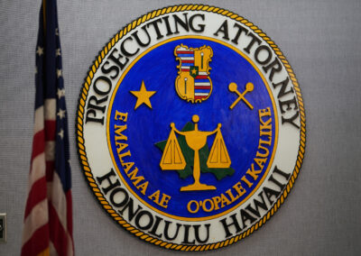 Honolulu Prosecuting Attorney seal.