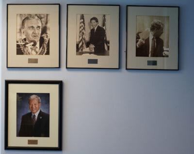 Honolulu Prosecutor portraits in the prosecutor's office with Charles Marsland and Keith Kaneshiro. January 12, 2021.