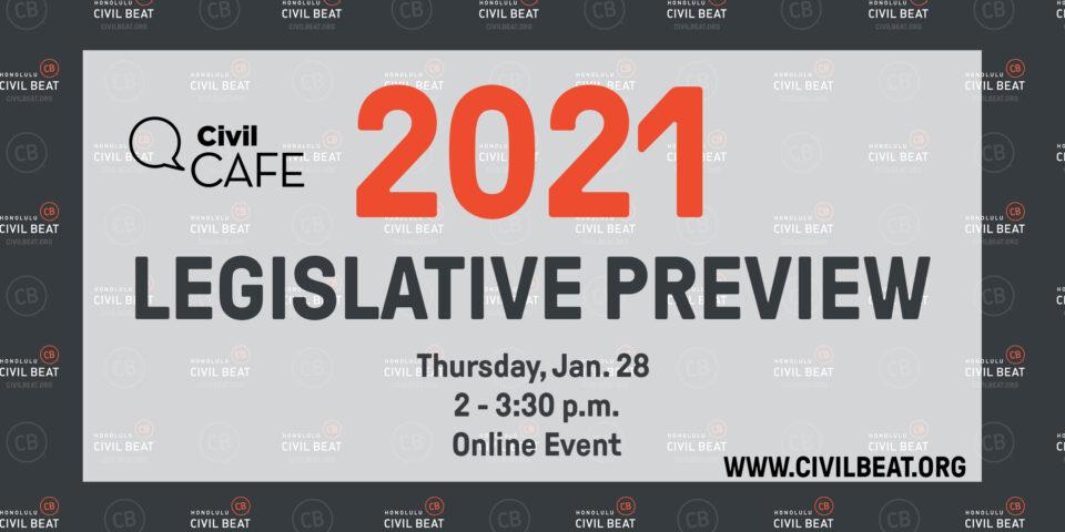 PSA EVENT – Civil Cafe: Legislative Preview 1/28/21