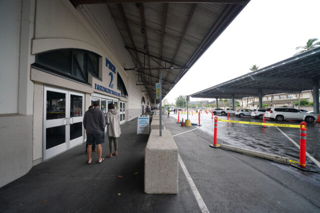 Pier 2 is the location for Hawaii Pacific Health COVID-19 vaccinations. January 18, 2021