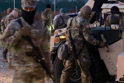 Hawaii Troops Help Secure US Capitol As Biden Takes Oath