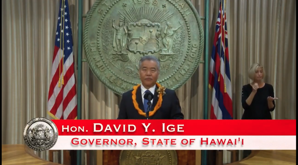 Ige's State Of The State Speech Skips The Difficult Details