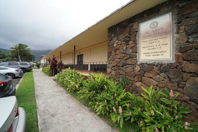 St. Ann's Church and School.