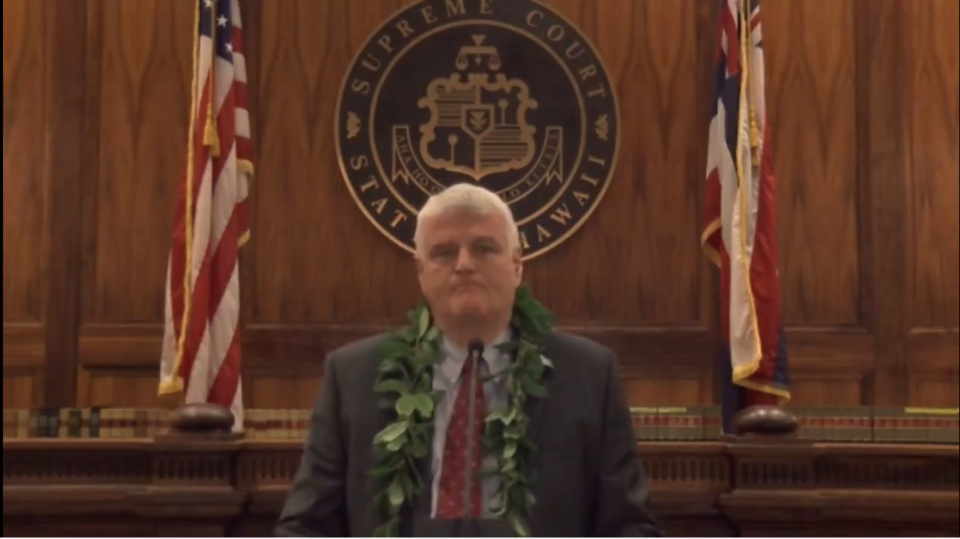 Hawaii Chief Justice: Courts Must Address Systemic Inequities