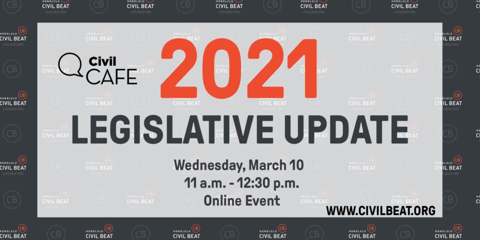 PSA EVENT – Civil Cafe Legislative Update 3/10/21