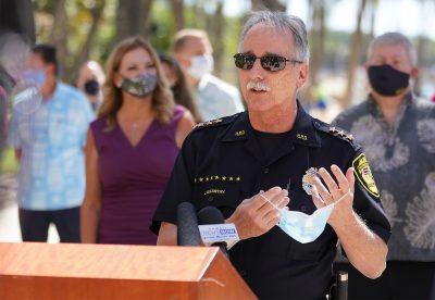 Honolulu Police Department Deputy Chief John McCarthy.