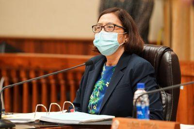 Honolulu City Council member Esther Kiaaina.