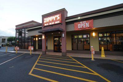 Zippy's Restaurant located near Washington Middle School.