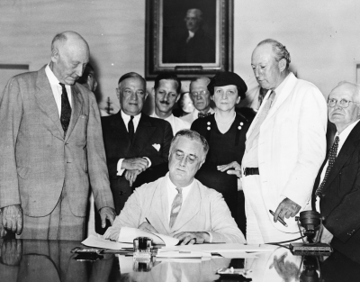 FDR Responded To The Desperation Of His Time