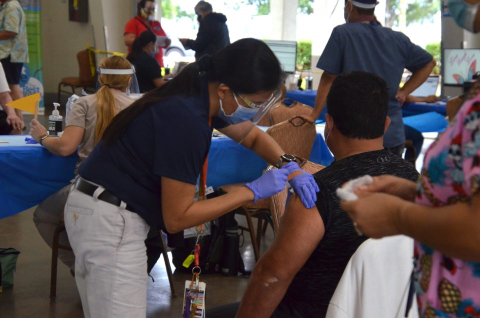 Hundreds Of Military Vets Get COVID-19 Vaccines In Hawaii
