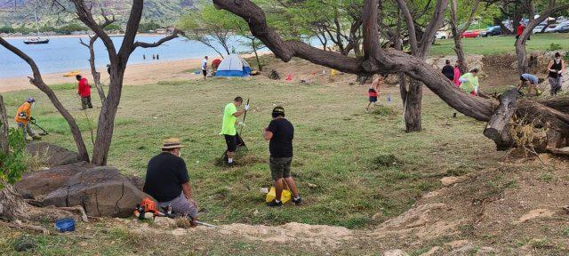 Waianae Pokai Bay Cleanup