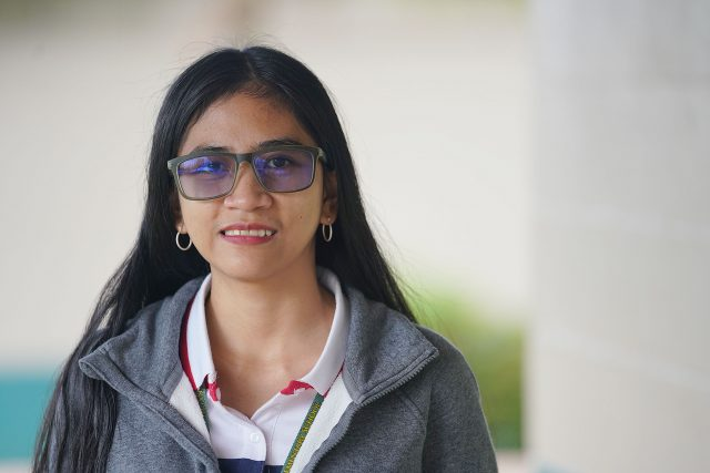 Lanai High and Elementary School teacher Daisy Lyn Dela Rosa.