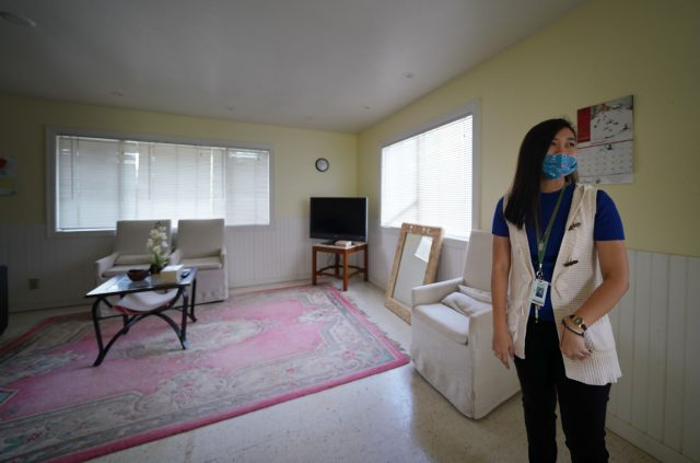 Lanai High and Elementary School. Elementary school teacher Erica Dianne Esmeria gives us a tour of her house which 2 other colleagues live together.