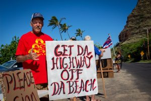 These Makaha Residents Are Hoping To Move A Major Highway