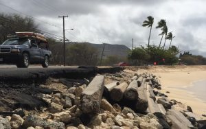 Activists Hit New Roadblock In Efforts To Reroute Farrington Highway At Makaha Beach