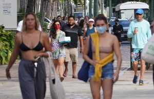 Can People In Hawaii Stop Wearing Masks Outdoors? Not Yet