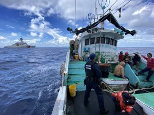 Coast Guard Cutter Returns To Honolulu After 82-Day Fishery Patrol