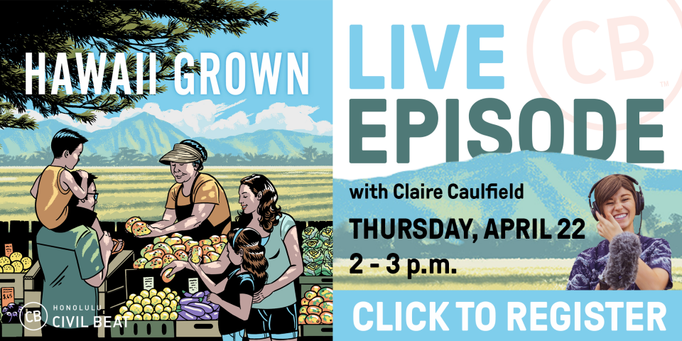 """PSA EVENT – """"Hawaii Grown"""" Live Podcast Recording! 4/22/21"""
