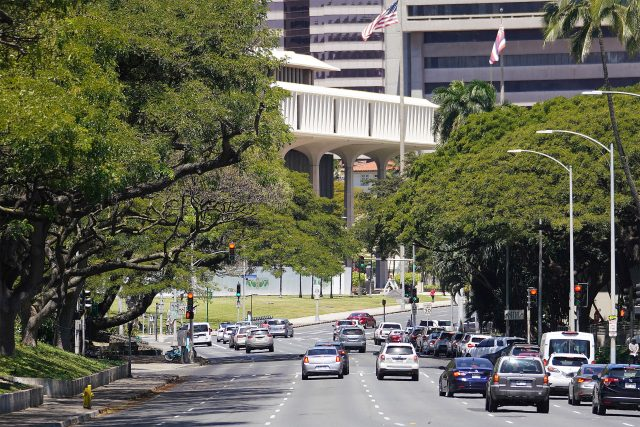 Hawaii State Capitol Building.