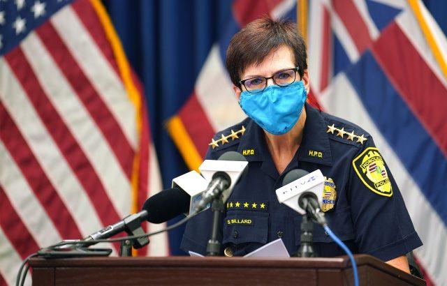 Honolulu Police Chief Susan Ballard.