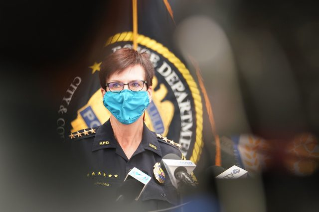 Honolulu Police Chief Susan Ballard. April 15, 2021