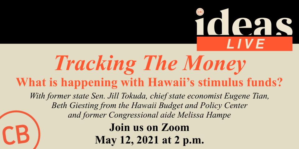 PSA – EVENT IDEAS Live: Tracking The Money 5/19