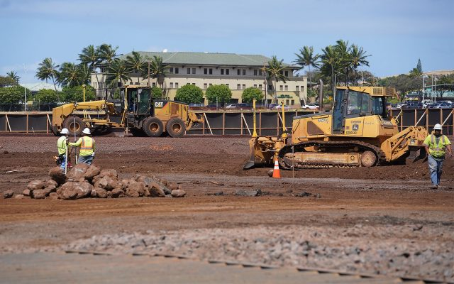 Hawaii State Veterans Home construction located in Kapolei.
