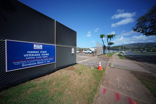 Hawaii State Veterans Home construction located in Kapolei, West Oahu.