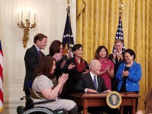 Biden Signs COVID-19 Hate Crimes Act Into Law