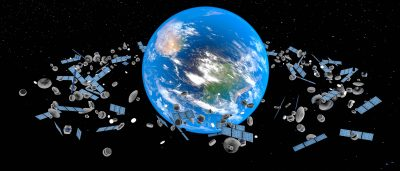 What If A Rocket Landed On Your House? The Problem With Space Junk