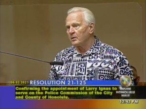 There Is No Racial Discrimination In Hawaii, Blangiardi's Police Commission Nominee Says