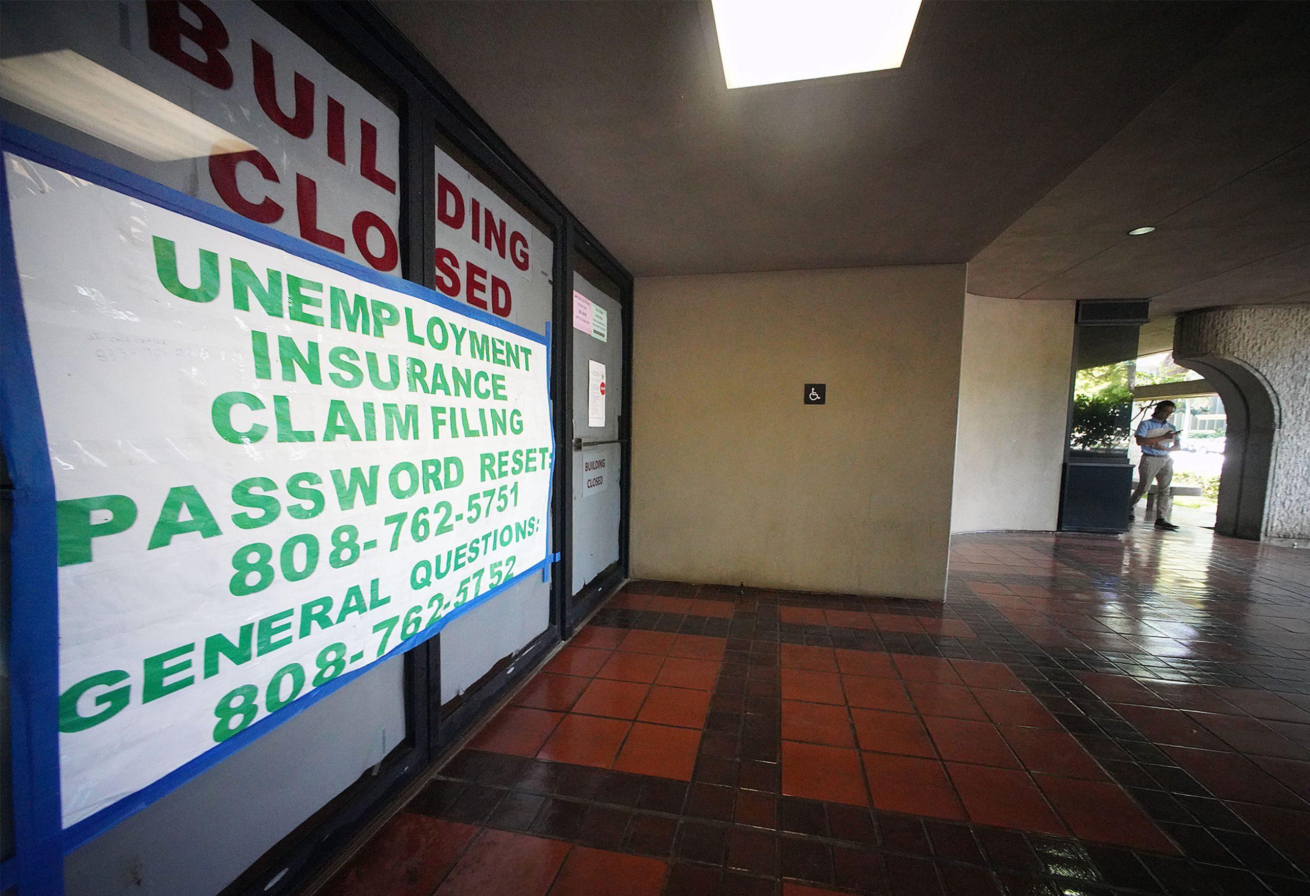 Princess Ruth Keelikolani DLIR State Building Closed.
