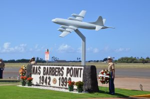 Battle Of Midway Commemorated As Rebuilt Barbers Point Memorial Unveiled