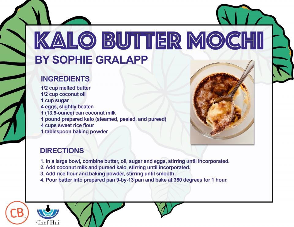 Kalo Butter Mochi