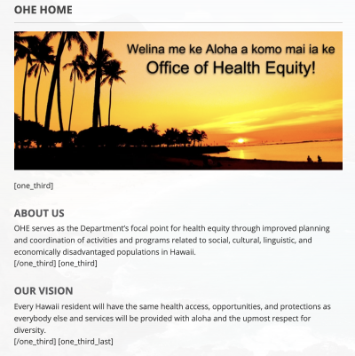 Hawaii Is Bringing Back Its Health Equity Office As Pandemic Highlights Disparities