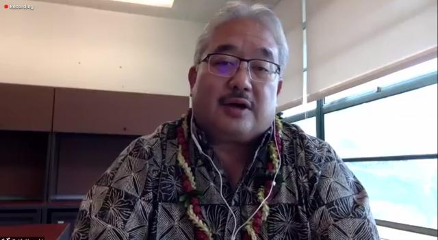 Waipahu High Principal Keith Hayashi