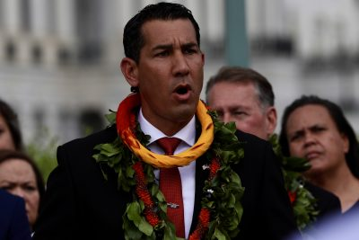 Staffer In Kai Kahele's DC Office Tests Positive For COVID-19