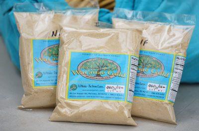Waianae Gold is Kiawe tree seeds ground into a flour.