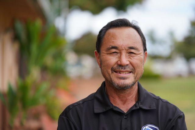 Holomua Elementary School Principal Gary Yasui.