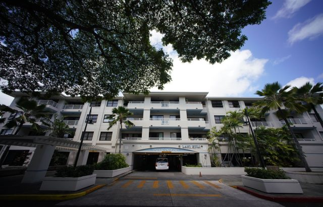 25 Aulike Street, public parking structure located in Kailua.