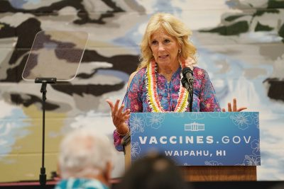 First Lady Jill Biden Promotes COVID-19 Vaccine In Visit To Hawaii