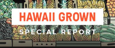 Banner Hawaii Grown