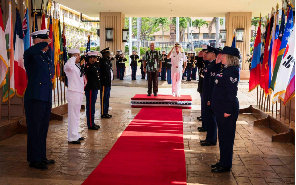 Micronesian President Discusses Military Issues During Hawaii Visit