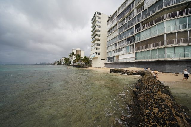 Waikiki Gold Coast makai beachside of Coconut Avenue. Not quite sure what the addresses are. FIle from February 17, 2020
