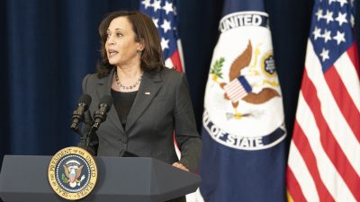 Vice President Harris Pans Beijing For 'Intimidation' in South China Sea