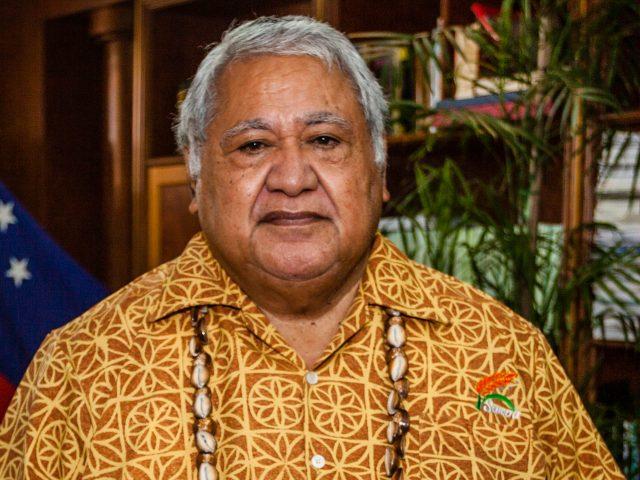 Former Samoan Prime Minister Tuilaepa Aiono Sailele Malielegaoi