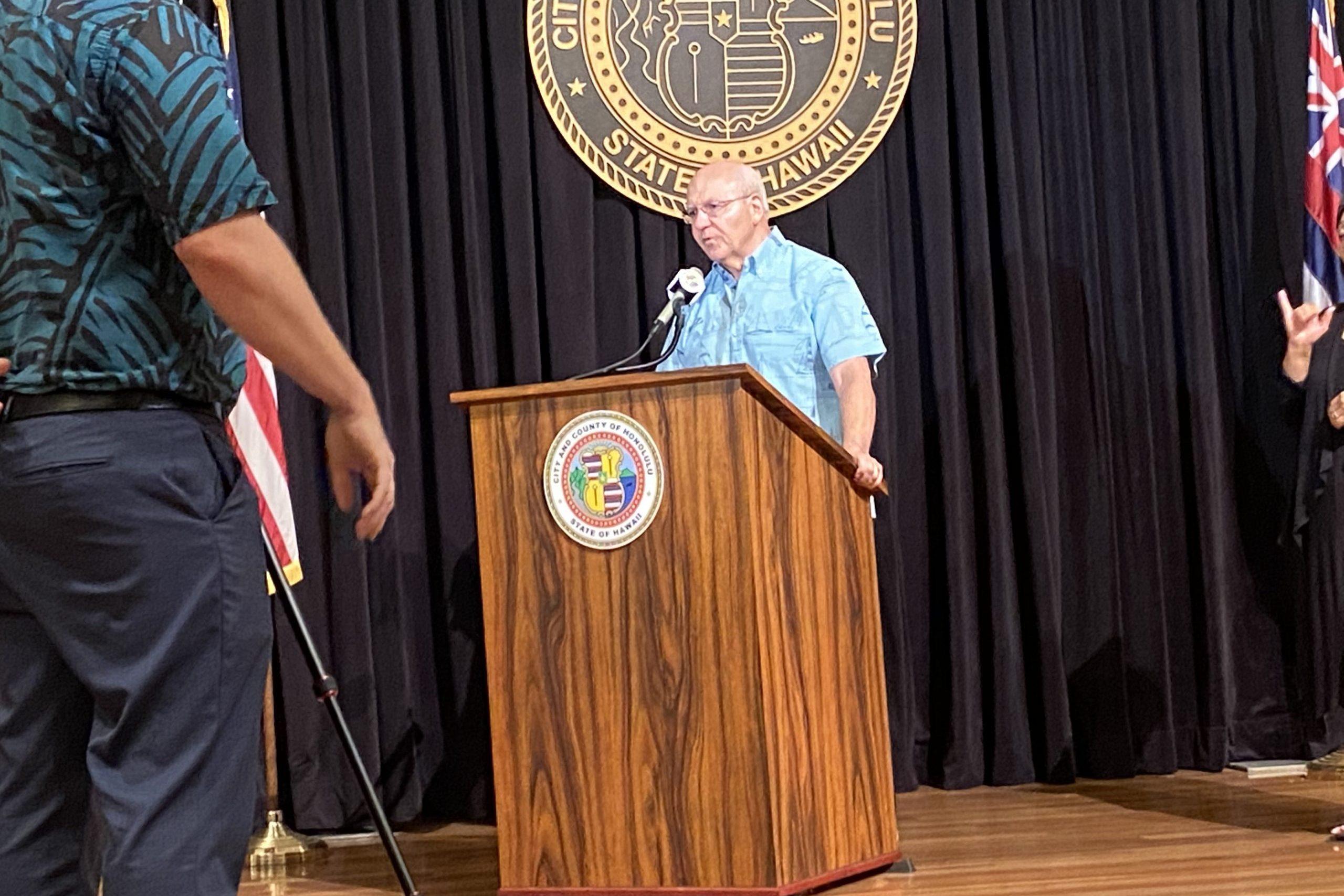 Mayor Rick Blangiardi Vaccine Mandate