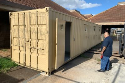 Months After Delivery, Portable Cells Sit Unused At Hawaii's Largest Jail